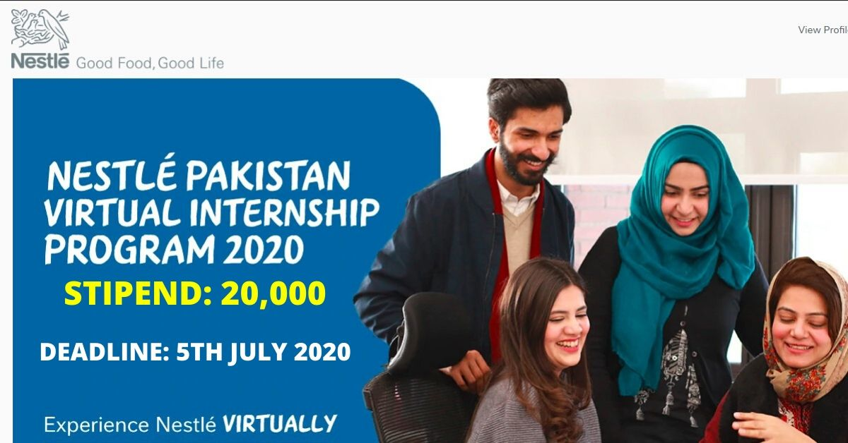 Nestle Pakistan Internship Program