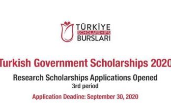 Turkish Government International Research Scholarship Program