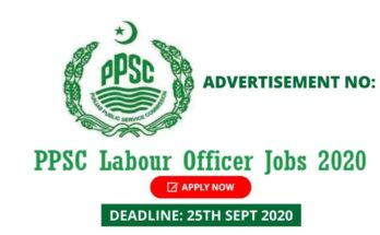 PPSC Labour Officer Jobs