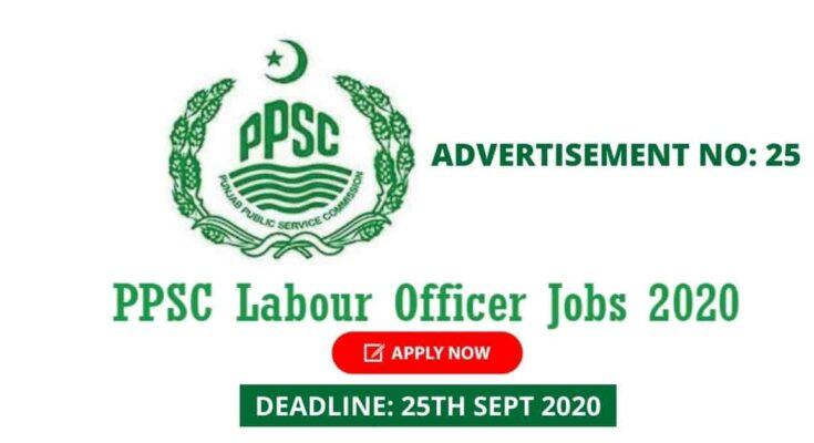 PPSC Labour Officer Jobs