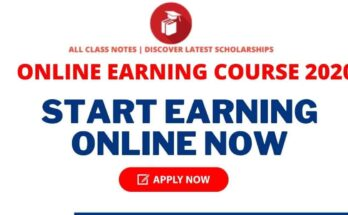 online Earning course