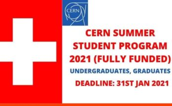 CERN Online Summer Student Program