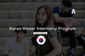 Korea Winter Internship Program