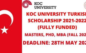 Koc University Scholarship