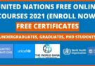 United Nations Free Online Courses