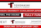 Toyohashi University Scholarship