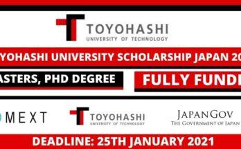 Toyohashi University Scholarship