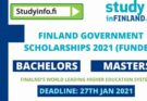 Finland Government Scholarships