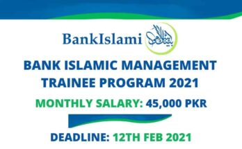 Bank Islami Management Trainee Program