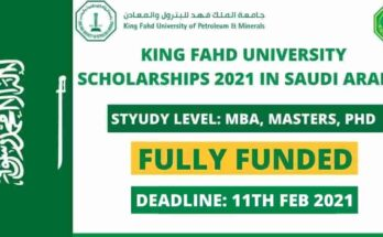 King Fahd University Scholarships