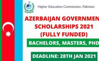 HEC Azerbaijan Government Scholarships