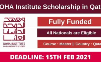 Doha University Scholarships