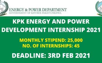 KPK Energy & Power Department Internship