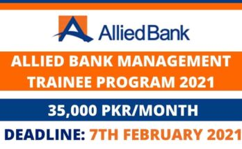 Allied Bank Management Trainee Program