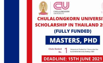Chulalongkorn University Scholarship