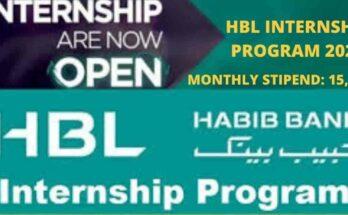 HBL Internship