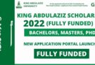 King Abdulaziz University Scholarship
