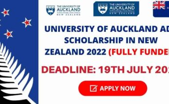 University of Auckland ADB Scholarship