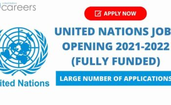 United Nations Jobs Opening 2022 | Apply Now