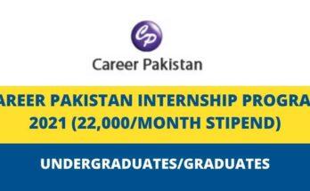 Career Pakistan Internship