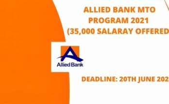 Allied Bank Management Trainee Officers Program