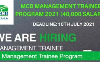 MCB Management Trainee Program