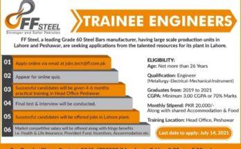 FF Steel Trainee Program