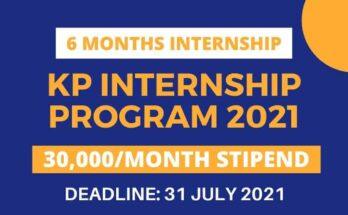 KP Internship Program 2021