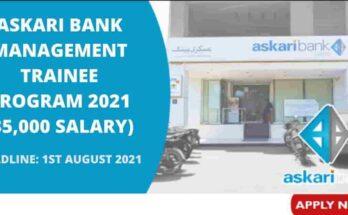 Askari Bank Management Trainee Program