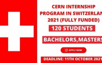 CERN Internship Program