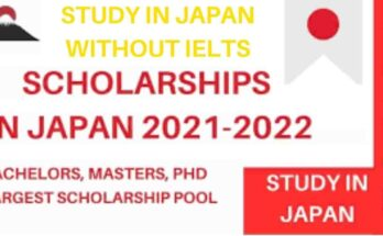 Scholarships in Japan Without IELTS 2021