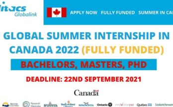 Mitacs Globalink Research Internship in Canada 2022 | Fully Funded