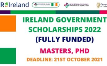 Government of Ireland Scholarships