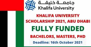 Khalifa University Scholarships